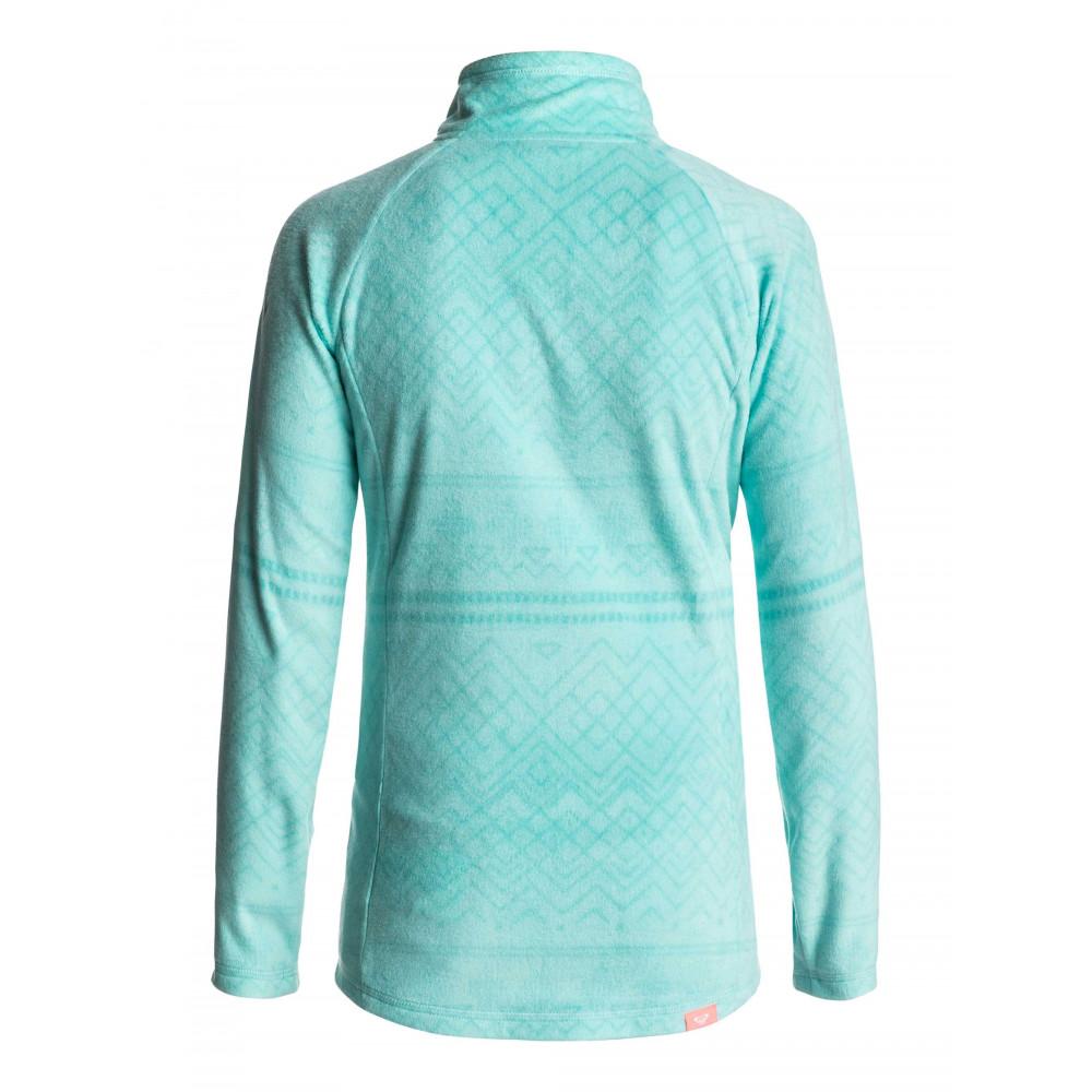 Girls 8-14 Cascade Technical Half Zip Fleece Jumper ERGFT03210 ROXY