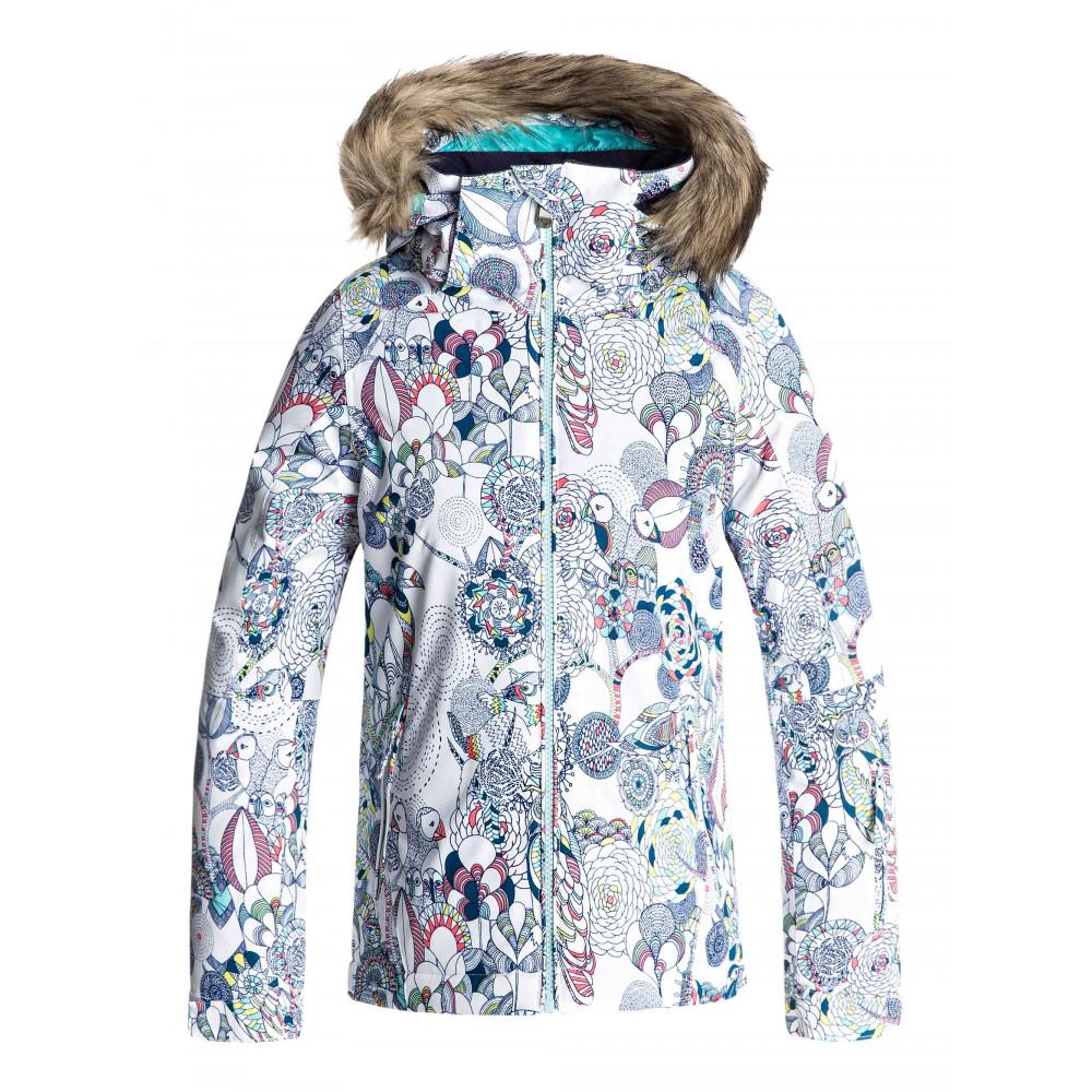Girls 8-14 American Pie 10K Snow Jacket ERGTJ03037 ROXY