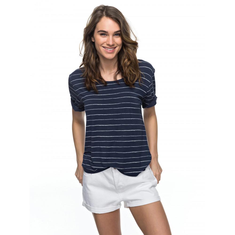 Womens Free As The Ocean T Shirt ERJKT03330 ROXY