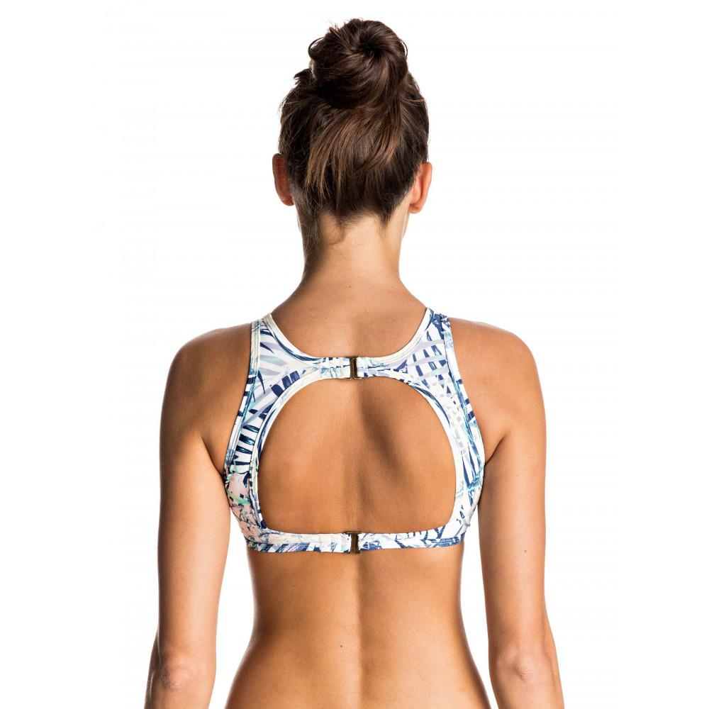 Womens Sea Lovers Crochet Crop Separate Bikini Top ERJX303333 Roxy