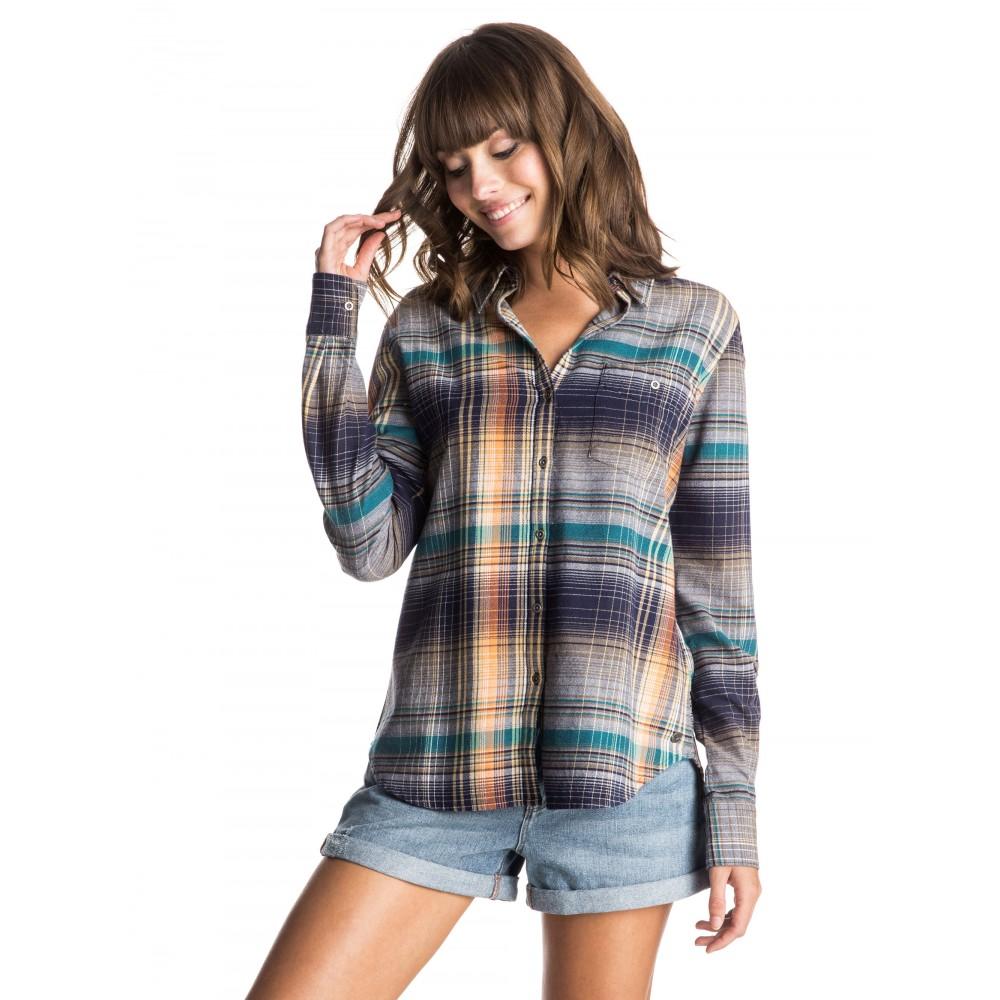 Womens Hill Top Long Sleeve Shirt ERJWT03044 Roxy