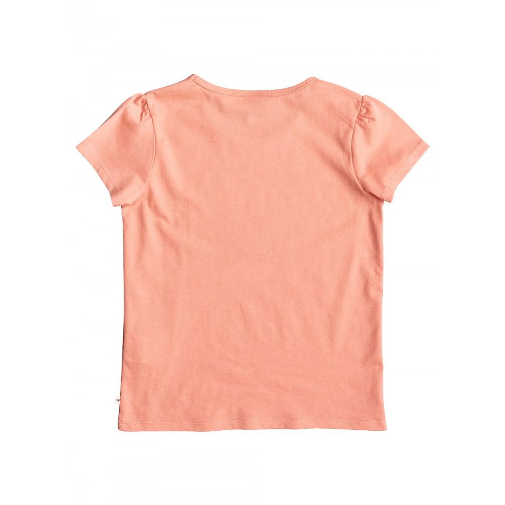 Kids 2-7 Sunrise Circle T Shirt URLZT03047 Roxy