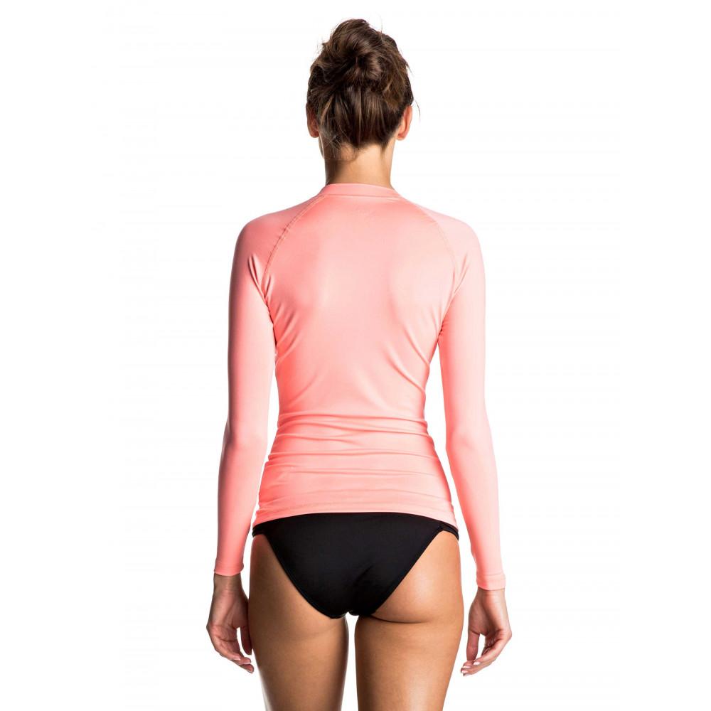 Womens Whole Hearted Long Sleeve Rash Vest URJWR03033 ROXY