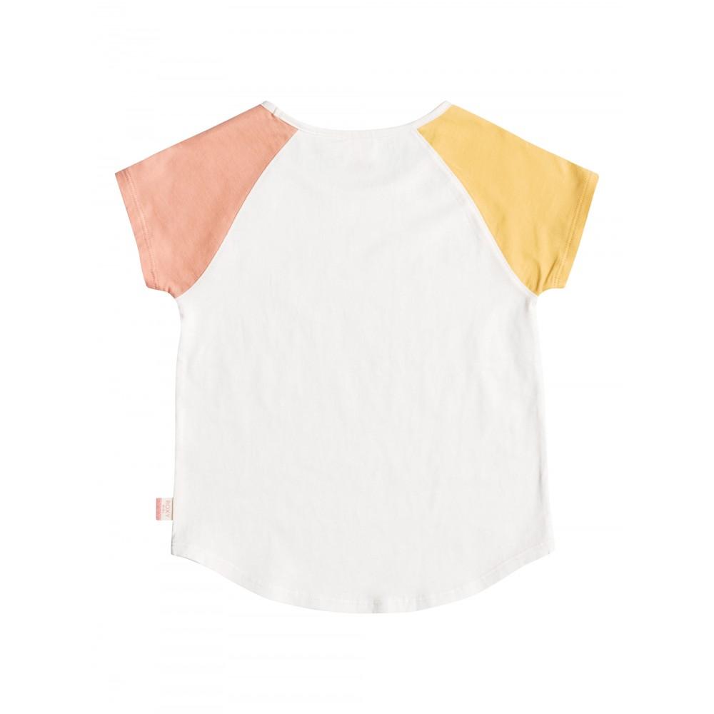 Girls 2-7 Raglan Bico T Shirt URLZT03077 ROXY