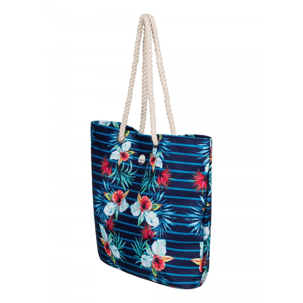Printed Tropical Vibe Tote Bag