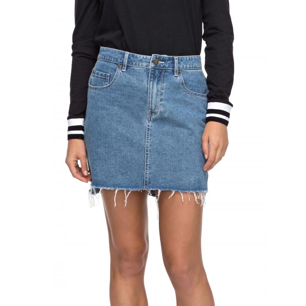 Womens Take This Chance Denim Skirt