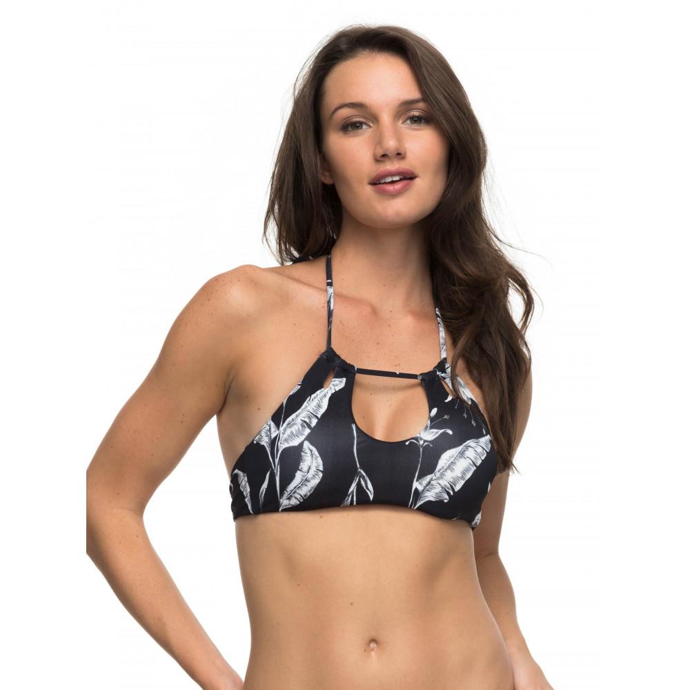 Womens Strappy Love-Chief Prado Halter Crop Separate Bikini Top