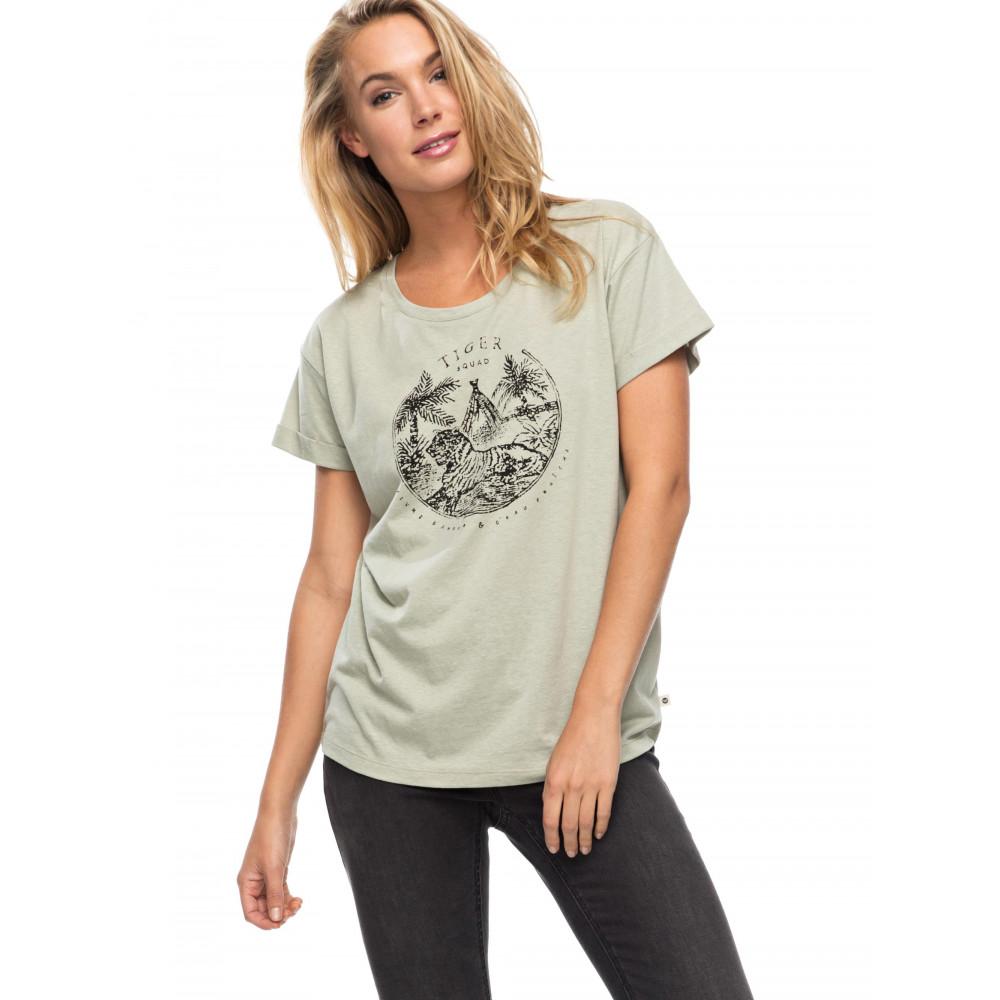 Womens Alex Palm Tiger Squad T Shirt