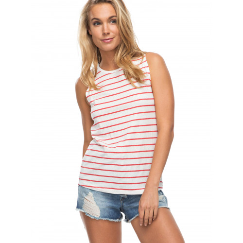 Womens Just Simple Stripe Tank Top