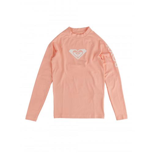 Girls 8-14 Whole Hearted Long Sleeve Rash Vest