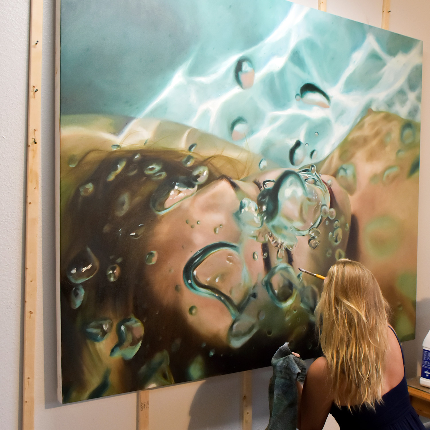 It Started With The Sea - Meet Artist Reisha Perlmutter